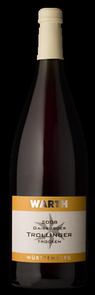 2018 Gaisburger Trollinger trocken 1,0 L - Weingut Warth