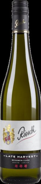 2018 LATE HARVEST Weisswein Cuvée 0,75 L Auslese lieblich - Weingut Rienth