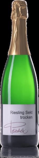 2017 Riesling Sekt trocken 0,75 L Flaschengärung - Weingut Politschek