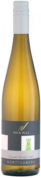 2019 Grauer Burgunder trocken 0,75 L TURIS – Weingut Will und Würz