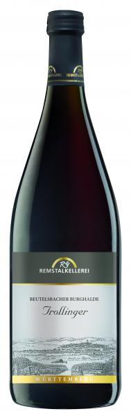 2019 Trollinger 1,0 L Beutelsbacher Burghalde - Remstalkellerei