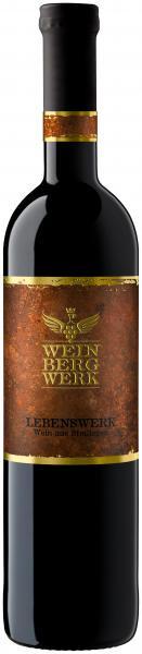 2015 LEBENSWERK Rotwein Cuvée trocken im Barrique gereift 0,75 L - WeinBergWerk