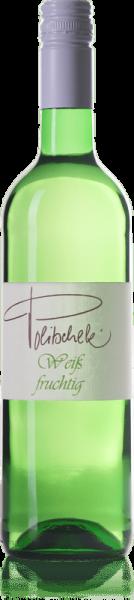 2019 Weiß fruchtig 0,75 L Weisswein süss - Weingut Politschek