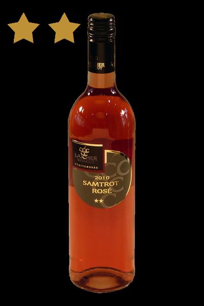 2020 Samtrot Rosé ** 0,75 L feinherb – Weingut Laicher