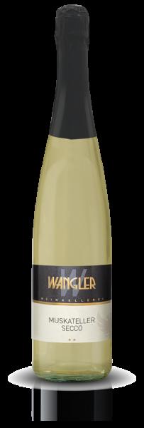2020 Muskateller Secco 0,75 L - Weinkellerei Wangler