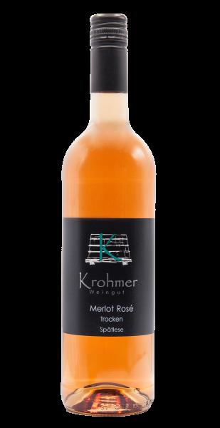 2020 Merlot Rosé trocken 0,75 L - Familie Krohmer