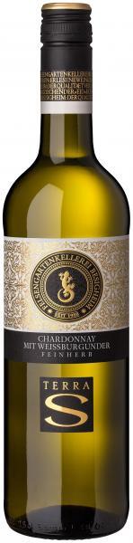 Chardonnay mit Weissburgunder feinherb 0,75 L TERRA S - Felsengartenkellerei