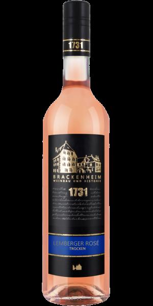 2020 Lemberger Rosé trocken 0,75 L Schloss Brackenheim - Weingärtner Stromberg-Zabergäu