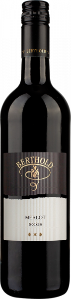 2018 Merlot trocken *** 0,75 L - Weingut Berthold