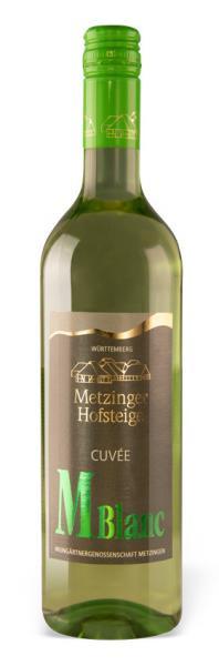 2019 Weißwein-Cuvée M blanc halbtrocken 0,75 L - Weingärtnergenossenschaft Metzingen