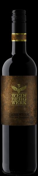 2015 JAHRWERK Rotwein Cuvée trocken 0,75 L im Eichenfass gereift - WeinBergWerk