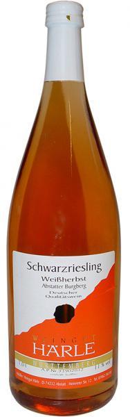 2019 Schwarzriesling Rosé fruchtig 1,0 L Abstatter Burgberg - Weingut Härle