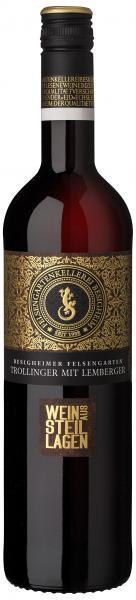 Trollinger mit Lemberger feinherb 0,75 L Wein aus Steillagen - Felsengartenkellerei