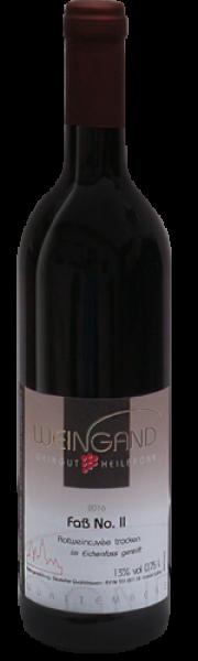2016 Fass No. II Rotwein Cuvée trocken 0,75 l - Weingut Weingand