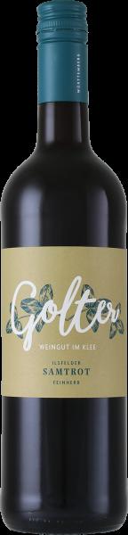 2016 Samtrot feinherb 0,75 L Ilsfeld - Weingut Golter
