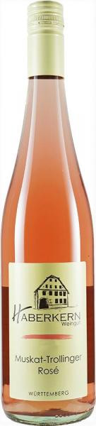 2019 Muskat-Trollinger Rosé 0,75 L fruchtig - Weingut Haberkern