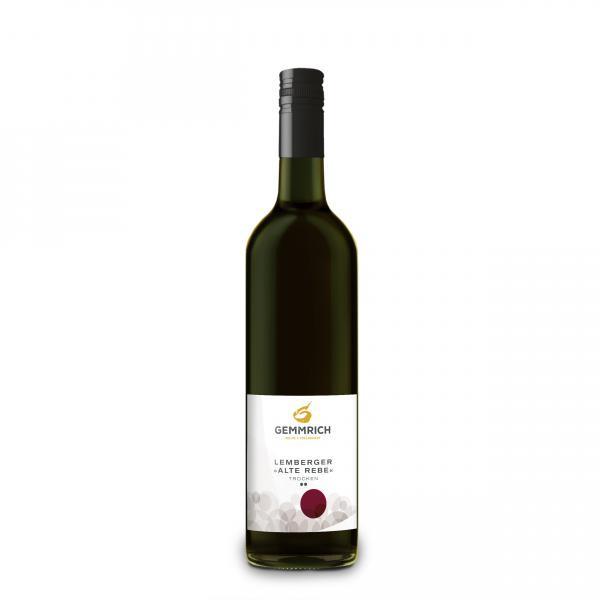 2016 Lemberger Alte Rebe trocken ** 0,75 L - Weingut Gemmrich