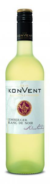 2020 Lemberger Blanc de Noir feinherb 0,75 L KLOSTERHOF - Weinkonvent Dürrenzimmern