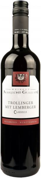2020 Lemberger mit Trollinger 0,75 L Classic - Weingut Albrecht-Gurrath