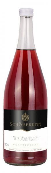 Roter Traubensaft 0,96 L Alkoholfrei - Weingut Schönbrunn