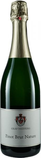 2016 Pinot Brut Nature 0,75 L Sekt - Weingut Graf Neipperg