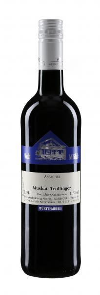 2019 Aspacher Muskat-Trollinger 0,75 L - Weingut Möhle