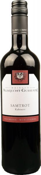 2019 Samtrot Kabinett 0,75 L feinherb - Weingut Albrecht-Gurrath