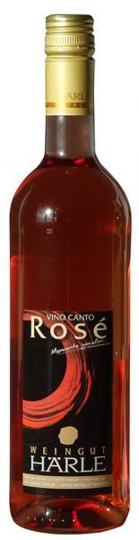 Vino Canto Rosé halbtrocken 0,75 l - Weingut Härle