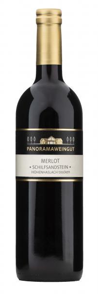 2017 Merlot trocken Schilfsandstein Hohenhaslach 0,75 l - Panoramaweingut R. Baumgärtner