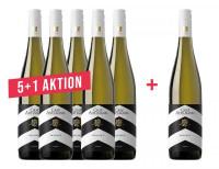 5 + 1 Aktion 2019 Riesling S trocken Bio - 6 x 0,75 L - Weingut Graf Adelmann