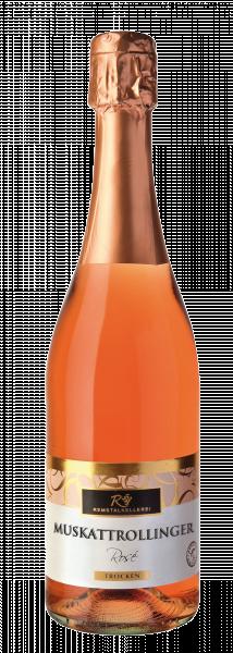 2019 Muskattrollinger Rosé Sekt trocken 0,75 L - Remstalkellerei