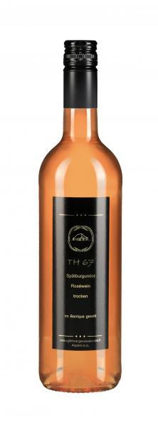 2014 Spätburgunder Rosé trocken TH67 Barrique 0,75 l - Weingärtnergenossenschaft Aspach