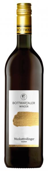 2018 Muskattrollinger trocken 0,75 L PREMIUM Rotwein - Bottwartaler Winzer