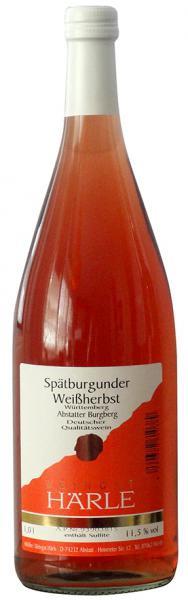 2020 Spätburgunder Rosé 1,0 L Abstatter Burgberg - Weingut Härle