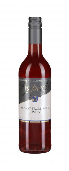 2019 Muskat-Trollinger Rosé S fruchtig 0,75 L - Weingärtnergenossenschaft Aspach