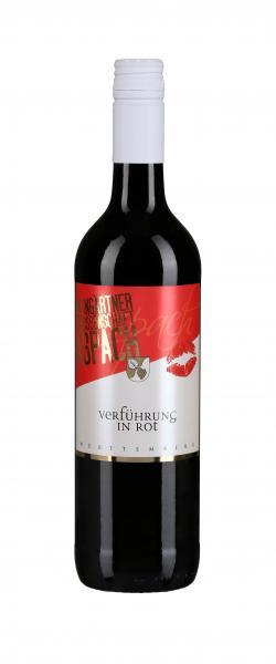 2019 VERFÜHRUNG in Rot 0,75 L Rotwein lieblich - Weingärtnergenossenschaft Aspach