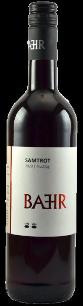 2020 Samtrot lieblich 0,75 L - Weingut Bähr