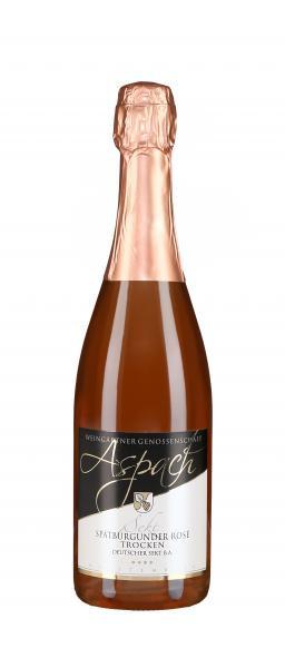 Spätburgunder Rosé Sekt trocken 0,75 l - Weingärtnergenossenschaft Aspach eG
