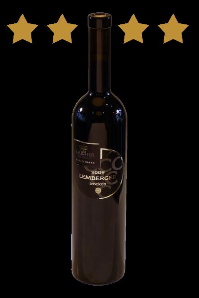 2017 Lemberger trocken **** 0,75 L Holzfass – Weingut Laicher