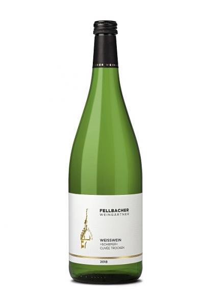 2020 Weisswein SCHIEFER 1,0 L Cuvée trocken - Fellbacher Weingärtner