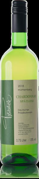 2018 Chardonnay Spätlese trocken 0,75 L - Weingut Politschek