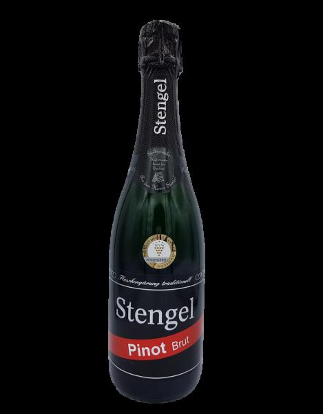 Pinot Brut Blanc de Noir Sekt 0,75 L traditionelle Flaschengärung - Sekt -und Weinmanufaktur Stengel
