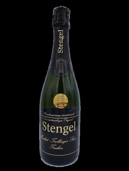 Muskat-Trollinger Rosé Sekt trocken 0,75 L traditionelle Flaschengärung - Sekt -und Weinmanufaktur S