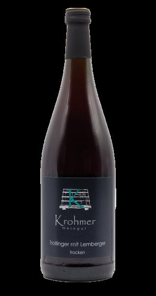2019 Trollinger mit Lemberger trocken 1,0 L - Familie Krohmer