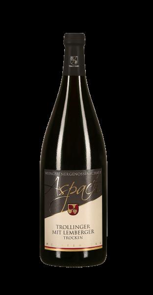 2019 Trollinger mit Lemberger trocken 1,0 L TRADITION - Weingärtnergenossenschaft Aspach