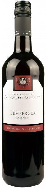 2019 Lemberger Kabinett 0,75 L feinherb - Weingut Albrecht-Gurrath