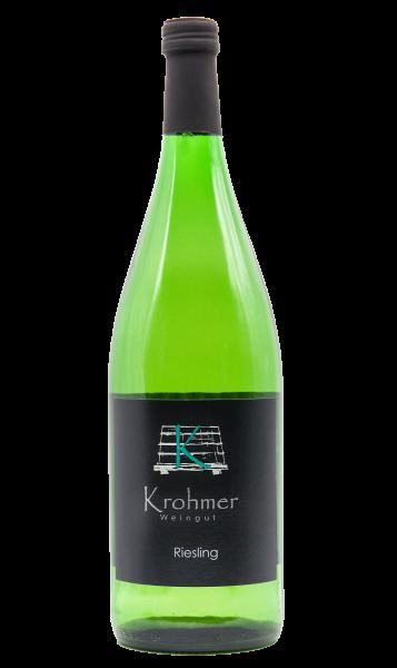 2019 Riesling halbtrocken 1,0 L - Familie Krohmer