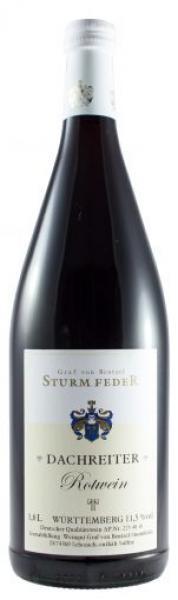 DACHREITER Rotwein 1,0 L halbtrocken - Weingut Graf von Bentzel Sturmfeder