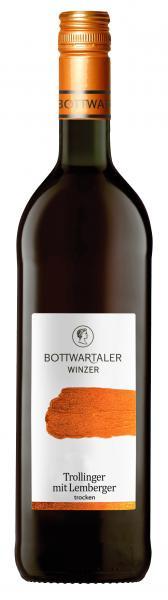 2018 Trollinger mit Lemberger trocken 0,75 L BASIC - Bottwartaler Winzer