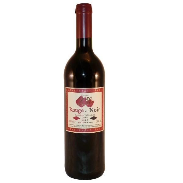 2007 Rouge et Noir trocken 0,75 L Schützinger Heiligenberg - Weingut Zaiß